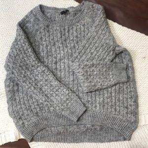 Chunky oversized cozy sweater